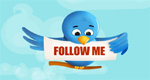 Twitter follow - follow orfej at Twitter